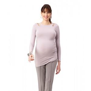 Maternity Double Keyhole Top