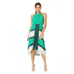 Nellina Dip Hem Pleated Dress