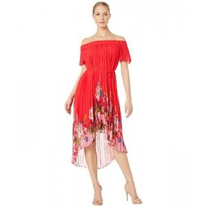Gillyy Berry Sundae Bardot Dress