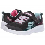 Microspec (Toddler) Black/Aqua