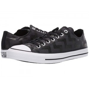 Chuck Taylor All Star Glam Dunk - Ox Black/White/Black