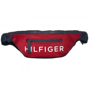 Hilfiger Nylon Body Bag Navy/Red