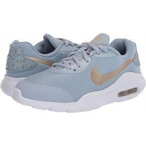 Nike Kids Air Max Oketo Valentines Day (Big Kid) Light Armory Blue/Metallic Gold/Team Red