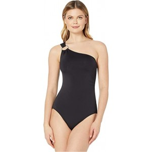 Iconic Solids One Shoulder One-Piece