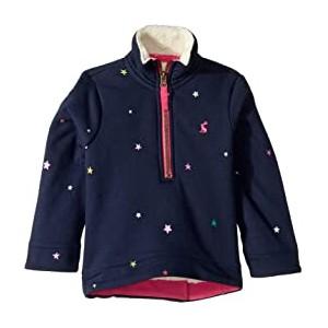 1/2 Zip Pullover Sweatshirt with Sherpa Trim (Toddler/Little Kids)