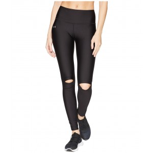 Ripped Tights Black/Metallic Silver