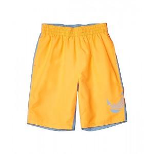 Nike Kids 8 Color Block Volley Shorts (Little Kidsu002FBig Kids) Total Orange