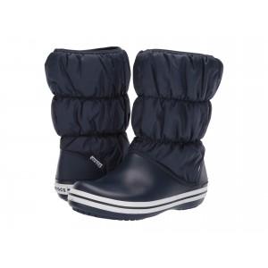 Winter Puff Boot Navy/White