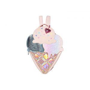 Ice Cream Shaped Mini Backpack Pink