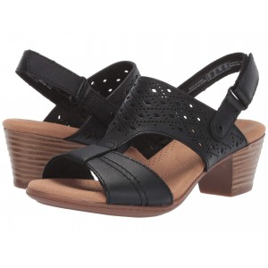 Valarie Mindi Black Leather