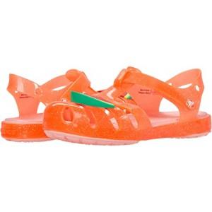 Crocs Kids Isabella Charm Sandal (Little Kid) Bright Coral