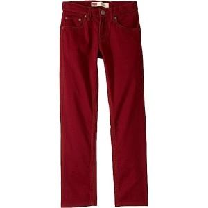 511 Sueded Pants (Big Kids) Cabernet