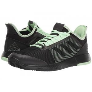 adizero Defiant Bounce 2 Core Black/Core Black/Glow Green
