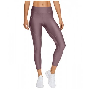 Under Armour HeatGear Armour Shine Perforation Ankle Crop Hushed Pink/Hushed Pink/Dash Pink