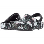Baya Printed Clog Tropical Floral/Black
