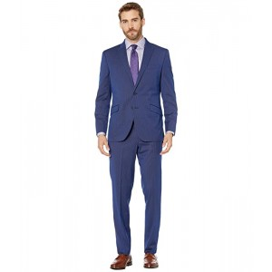 Slim Fit Stretch Performance Suit with 32 Finished Bottom Hem