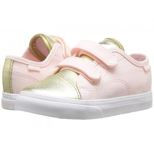 Style 23 V (Infant/Toddler) (Metallic Toe) Heavenly Pink/Gold