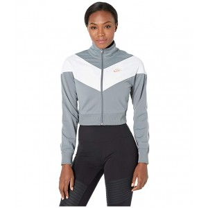 NSW Heritage Track Jacket Poly Knit Cool Grey/White/Echo Pink