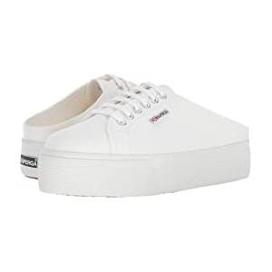 2284 Vcotw Platform Sneaker Mule White
