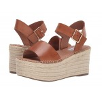 Cabo Espadrille Wedge Cognac Leather