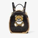 Moschino Bear Shoulder Bag Black