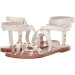 Tory Burch Ravello Studded Ankle-Wrap Sandal Perfect Ivory
