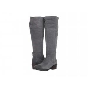 Sutherlin Bay Tall Boot Dark Grey Suede