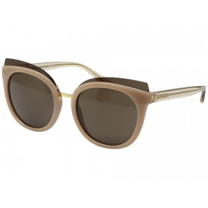 0TY9049 53mm Blush/Brown Solid