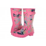 Disney Mary Poppins Original Short Rain Boots Arcade Pink Bright Camo Print