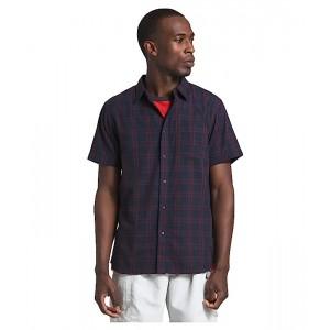 The North Face Short Sleeve Hammetts Shirt II Urban Navy Check Plaid