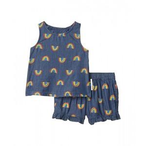 Rainbow Chambray Tank and Shorts Set Early (Infant)