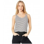 Roxy Flashback Moments Tank Anthracite Cosy Stripes