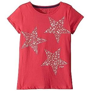 Star Tee (Big Kids) Virtual Pink