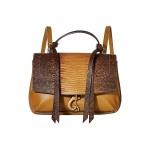 Rebecca Minkoff Stella Medium Convertible Backpack Nutmeg