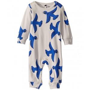 Flying Birds Jumpsuit (Infant) Light Grey