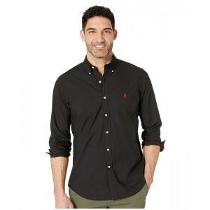 Polo Ralph Lauren Classic Fit Poplin Sport Shirt Polo Black