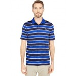 Short Sleeve Horizontal Large Stripe Polo