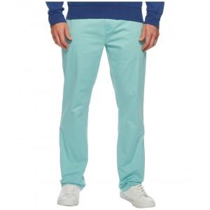 Classic Fit Stretch Newport Pants Tiki Green