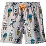 Taylor Ice Cream Monster Print Swim Shorts (Toddler/Little Kids/Big Kids)