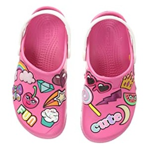 Fun Lab Playful Patches Clog (Toddler/Little Kid) Paradise Pink