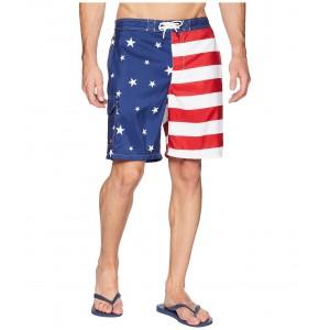 Americana Flag Kailua Swim Trunk Americana Flag