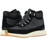 Cascada Waterproof Black Suede/Techy Nylon