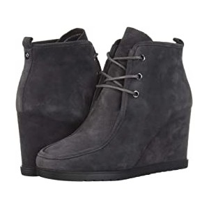 Tamata Lace-Up Bootie Charcoal