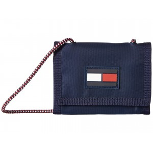 Leah Trifold Wallet Tommy Navy