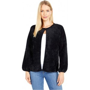 Soft Sweater Cardigan Black
