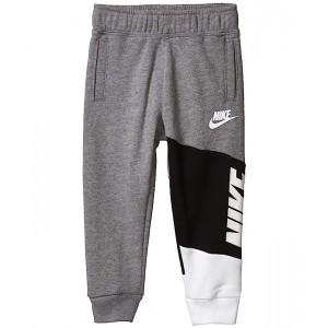 Nike Kids Color Block Lightweight Sueded Fleece Jogger Pants (Toddler) Carbon Heather