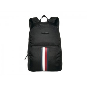 Jonathan Nylon Square Backpack Black