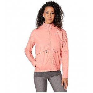 Essential Jacket Hood Pink Quartz/Reflective Silver