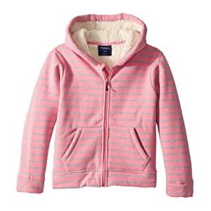 Fleece Lined Stripe Hoodie (Infant/Toddler/Little Kids/Big Kids)