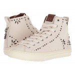 C216 Prairie Rivet High Top Sneaker Chalk Leather